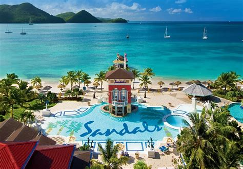 st lucia sandals grande sandals grande st lucian opens overwater bungalows and