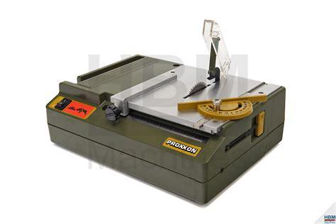 proxxon afkortzaag kgs 80 proxxon tafelcirkelzaag ks 230 hbm machines
