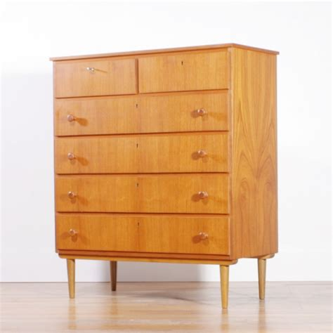 vintage chest of drawers 1950s 47269