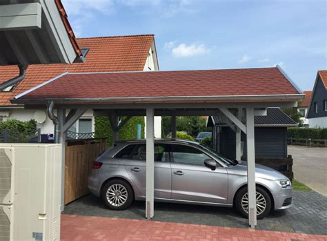 carport dach carport dacheindeckung mollys blockhausprojekt