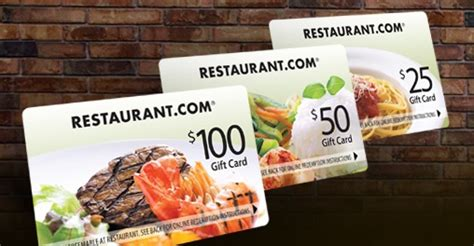 Restaurants With Gift Card Specials 2013 - specials by restaurant com restaurant com gift card trio