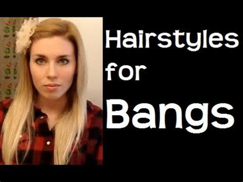 easy hairstyles for growing out bangs easy hairstyles for bangs hairstyles for long hair
