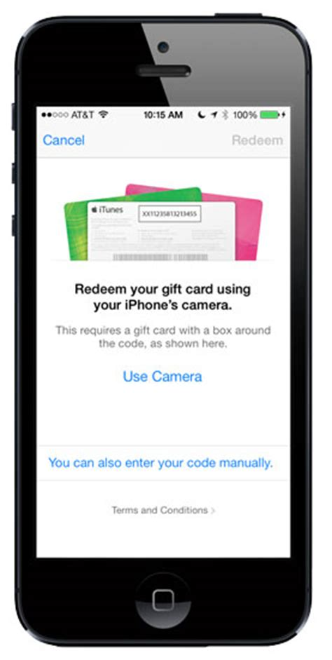 Redeem Itunes Gift Card With Camera - my 7 favorite ios 7 features macgroup detroit