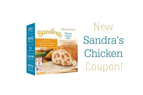 sandra's stuffed chicken breast coupon