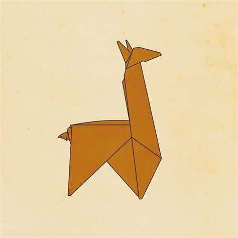 Llama Origami - origami llama ideas