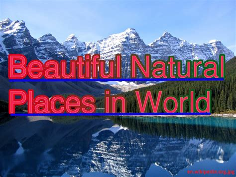 beautiful places to visit in the world beautiful natural places in the world my web value