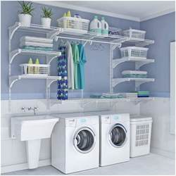 wire shelving for laundry room choose laundry room shelving that suits your needs and style