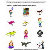 Identify Person Nouns Worksheet  Turtle Diary