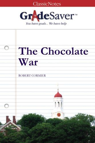 gradesaver tm classicnotes the gradesaver tm classicnotes the chocolate war study guide 9781602591363 slugbooks