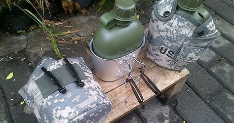 Army Tactical Bag Sarung Tempat Botol botol air minum army adhistore