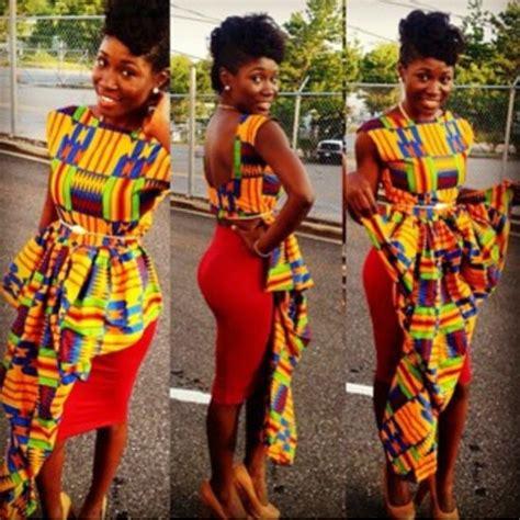 Kente Cloth   Ghana Kente Dress Styles   DeZango Fashion Zone