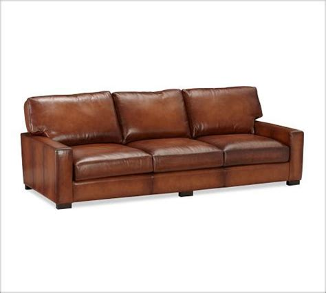 pottery barn turner couch 11 best images about leather sofas on pinterest