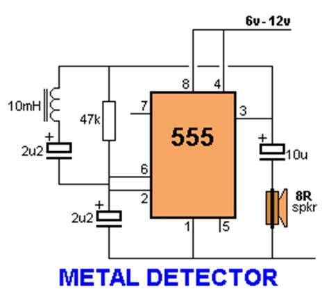 metal detector circuit diagram metal detector schematic diagram get free image about