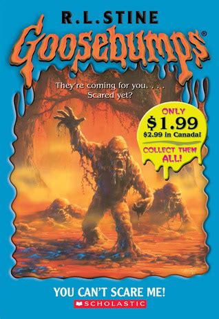 nothing can frighten a books you can t scare me goosebumps 15 by r l stine
