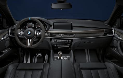 Bmw X5m Interior by Bmw M Performance Accessories Announced For X5 M X6 M