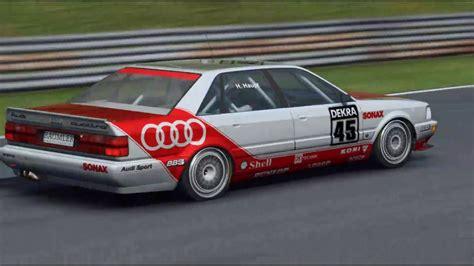 Audi V8 Dtm by R3e Audi V8 Dtm Salzburgring