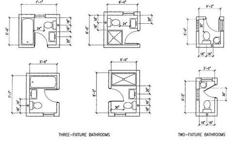6 option dimension small bathroom floor plans layout great