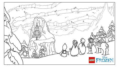 doodle kingdom how to make elves frozen northern lights the castle coloring page
