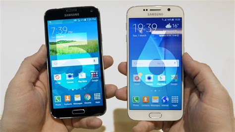 Samsung Galaxy S6 Vs S5 samsung galaxy s6 vs galaxy s5 comparison