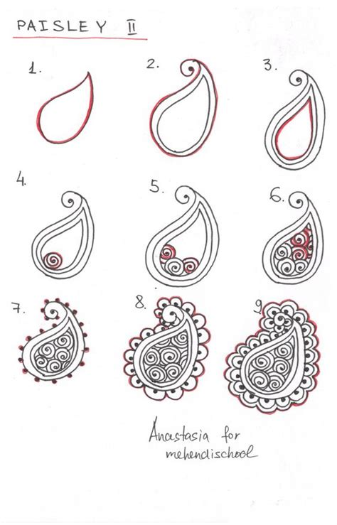 best tutorial on design patterns how to draw indian mehndi henna paisley small tutorial