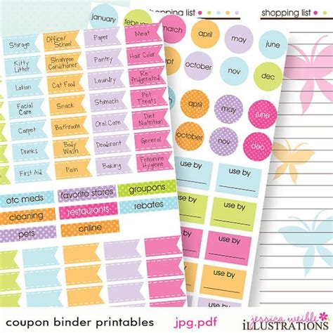 coupon organizing printables store specific 17 best images about coupon binder on pinterest discover