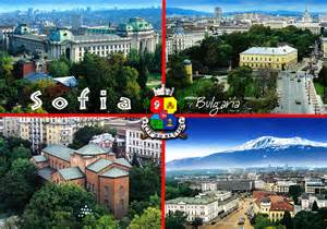 views from sofia bulgaria my collection of postcards