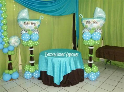 Blue And Green Baby Shower Decorations by Balloon Decor For All Types Of Baby Shower Ideas