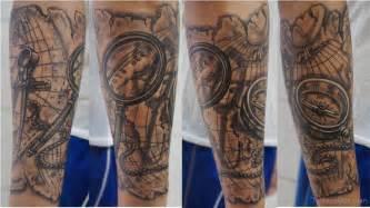 Map tattoos tattoo designs tattoo pictures