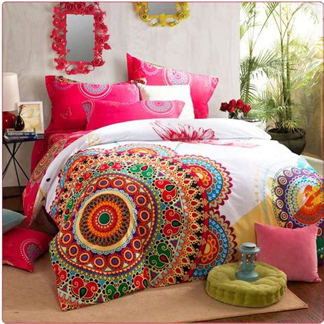 luxury boho bedding sets queen king size bedclothes