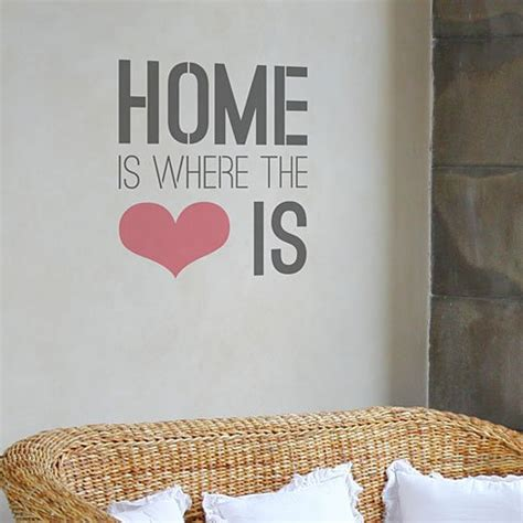 home stencil home is where quotes quotesgram