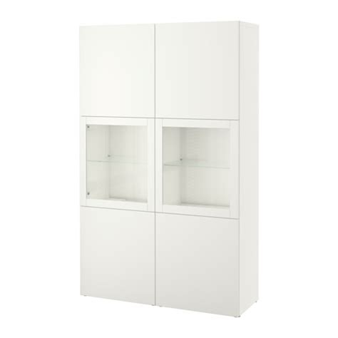 ikea besta vitrine best 197 storage combination w glass doors lappviken