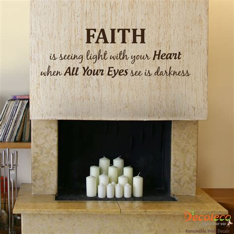 Faith Quotes Wall faith wall quote