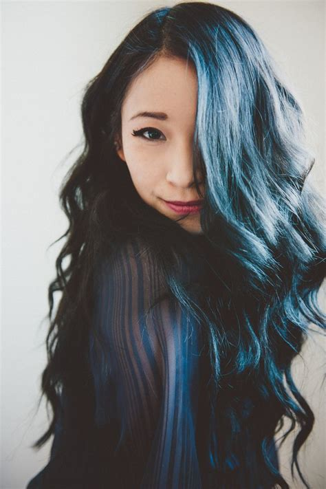 hair color for black hair black hair color with blue tint in 2016 amazing photo
