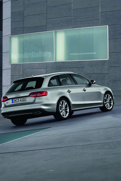 Audi A4 Versions by Audi Presents Facelifted Versions Of 2013my A4 A4 Allroad
