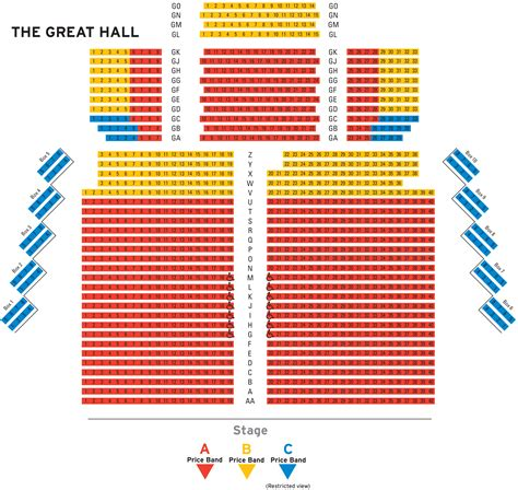 a seating plan seating plans exeter northcott theatre