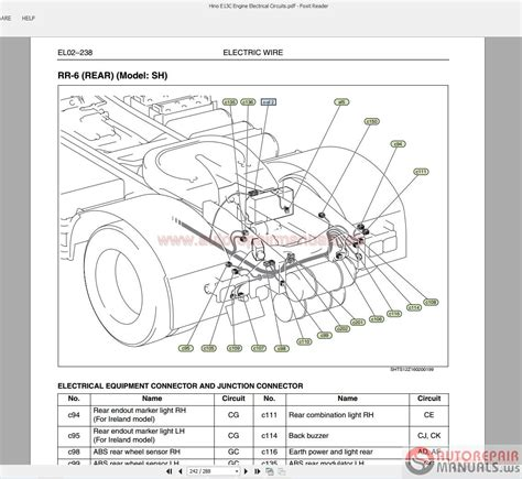 scania truck wiring diagram mini truck wiring diagram
