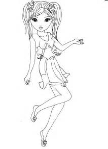 model colouring pages