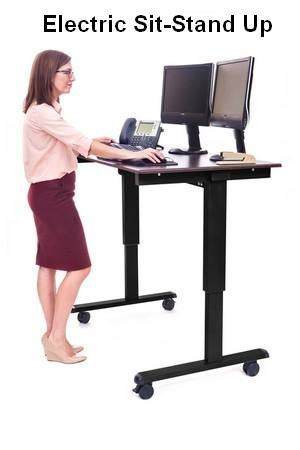 stand up desk mechanism stand up computer desks carts tables and workstations