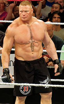 Brock Lesnar Wikipedia Brock Lesnar