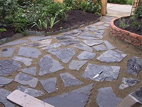 stone for backyard slate patio designs slate patios ideas slate stone patio