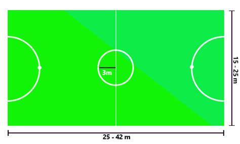 gambar dan ukuran lapangan futsal gambar dan ukuran lapangan olahraga bagian i mapel kelas