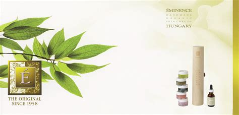 Eminence Handmade Organic Skin Care - eminence handmade organic skin care products radiance
