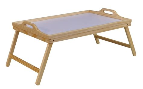 Folding Bed Table Folding Wooden Bed Tray Healthcare