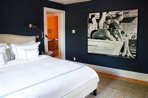 navy blue room guest room inspiration thelivedinroom