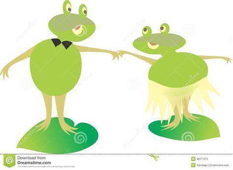 imagenes de ranas animadas de amor ranas animadas ilustraci 243 n del vector imagen de color
