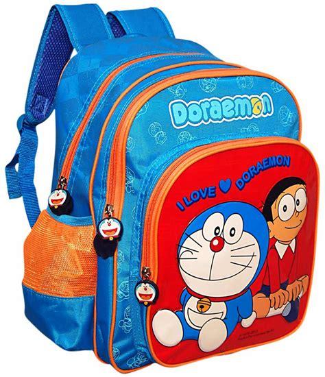 Bag Doraemon buy doraemon school bag 14 inches blue in india best price