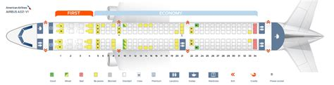 airbus a321 cabin layout seat map of the airbus a321 american airlines