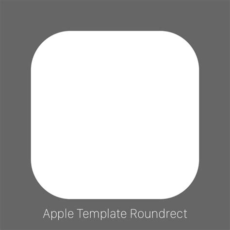 thoughts on the new official apple app icon template