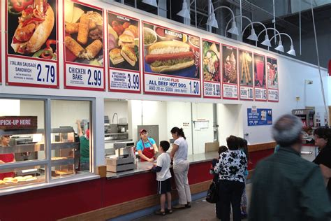 costco nutrition cheap eats a big draw at warehouse stores business