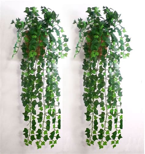 fake plants for home decor 7 5feet artificial ivy leaf garland plants vine fake